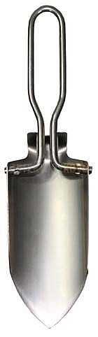 Skládací nerezová lopatka s pouzdrem - Detektory kovů