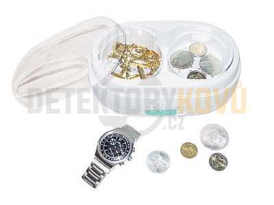 Vibrační čistička mincí Lindner - Detektory kovů