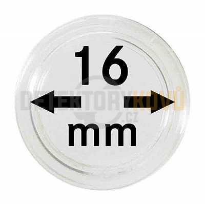 Kapsle na mince 16 mm - Detektory kovů