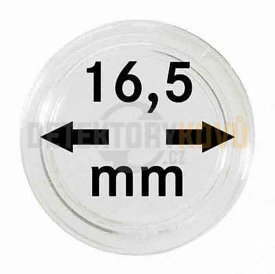 Kapsle na mince 16,5 mm - Detektory kovů
