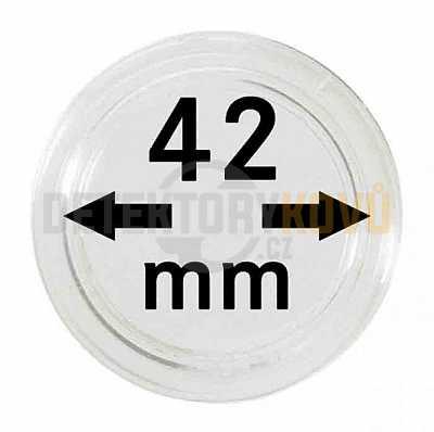 Kapsle na mince 42 mm - Detektory kovů