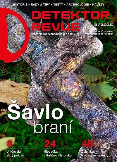 Detektor revue 2015/03 - Detektory kovů
