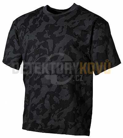 Tričko s krátkým rukávem Night Camo - Detektory kovů