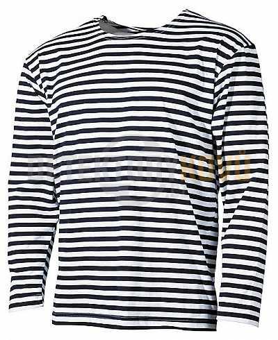 Tričko s dlouhým rukávem námořnické - Detektory kovů