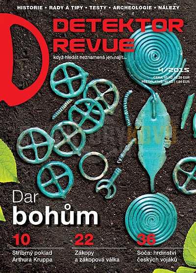 Detektor revue 2015/04 - Detektory kovů