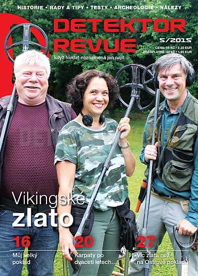 Detektor revue 2015/05 - Detektory kovů
