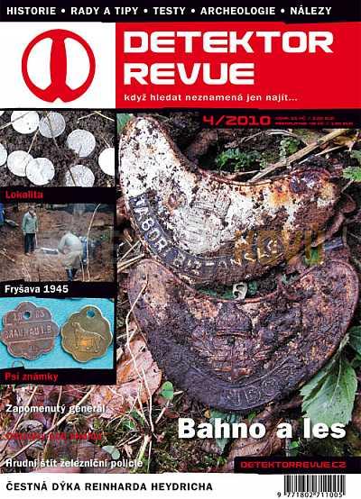 Detektor revue 2010/04 - Detektory kovů