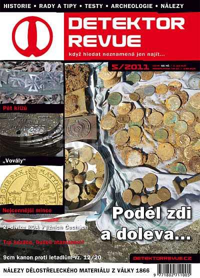 Detektor revue 5/2011 - Detektory kovů