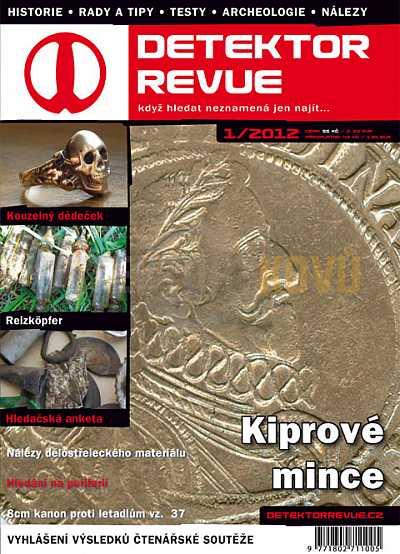 Detektor revue 2012/01 - Detektory kovů