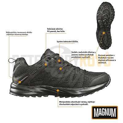 Boty Magnum Storm Trail Lite - černé - Detektory kovů