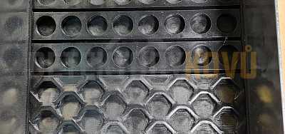 Poseidon - splav na rýžování zlata - Černá - Detektory kovů