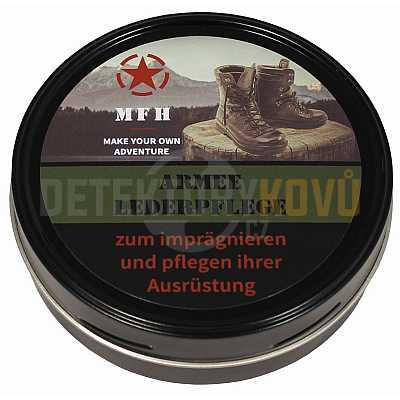 Army krém na koženou obuv 150 ml černý - Detektory kovů