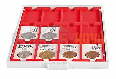 Box s 12 přihrádkami na REBECK - Detektory kovů