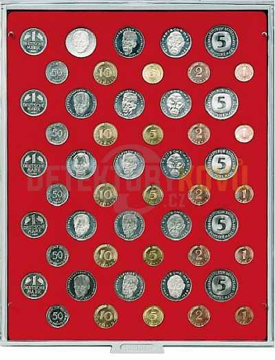 Kazeta na 5 sad německých mincí - 2207 - Detektory kovů