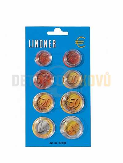Pouzdra na Euro mince - Detektory kovů