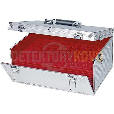 Hliníkové pouzdro, prázdné - Detektory kovů