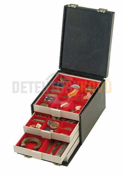Sběratelský box na 8 kazet (prázdný) - Detektory kovů