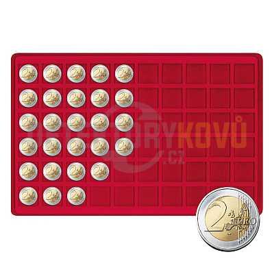 Velký kufřík na 480 mincí s 8 podnosy - Detektory kovů