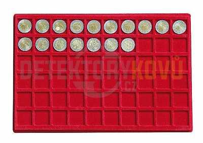 Hliníkové pouzdro Magnus s 10 zásobníky na mince - Detektory kovů