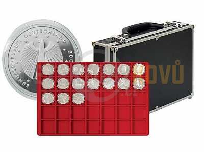 Kufřík na mince velký 2338-280 s 8 podnosy - Detektory kovů