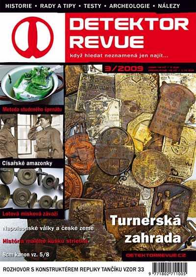 Detektor revue 03/2009 - Detektory kovů