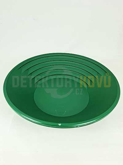 Rýžovací pánev na zlato Klondike 37 cm - zelená - Detektory kovů