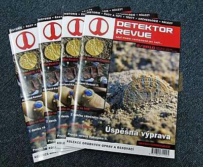 Detektor revue 02/2010 - Detektory kovů