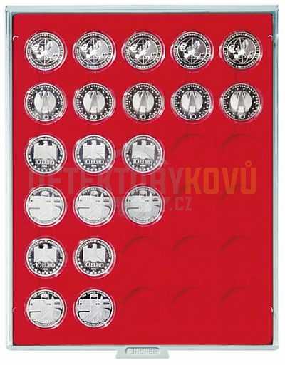 Kazeta na mince 30x Ø 37,5 mm - Detektory kovů