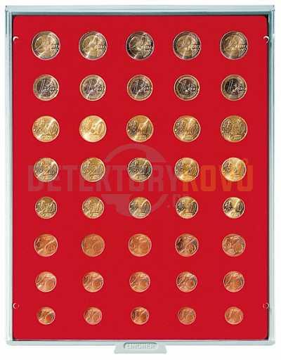 Kazeta na 5 sad Euro mincí - 2555 - Detektory kovů