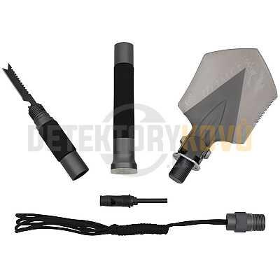 Multifunkční outdoorová lopatka Dogge I - Detektory kovů