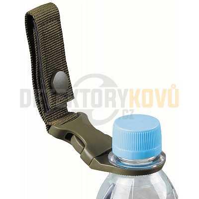 Držák Molle na PET láhve na opasek - zelený - Detektory kovů