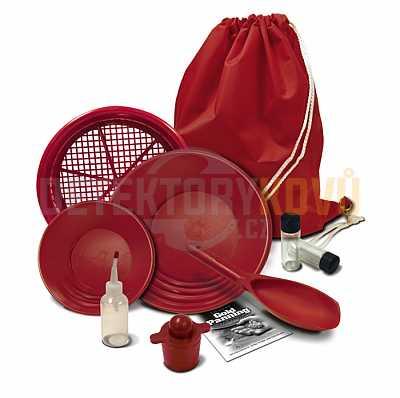 Rýžovací sada Fisher gold kit deluxe - Detektory kovů