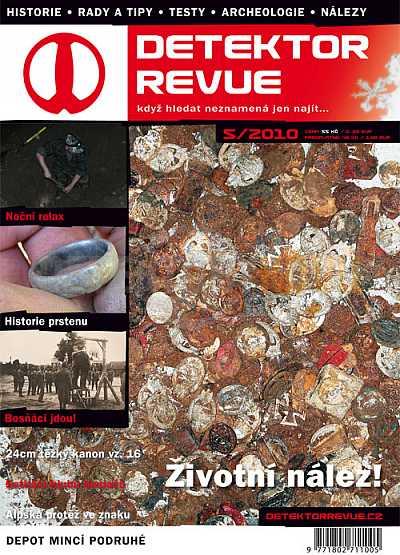 Detektor revue 05/2010 - Detektory kovů