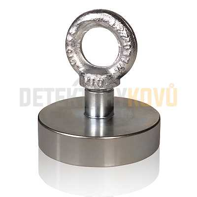 Supermagnet 40 kg - Detektory kovů