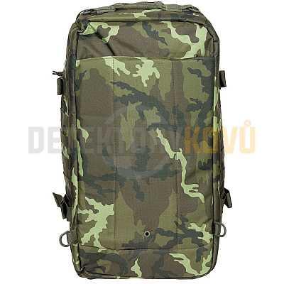 Taška kombinovaná s batohem TRAVEL MOLLE vz 95 CZ camo 48l - Detektory kovů