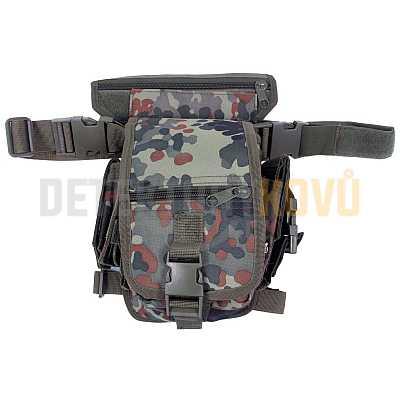 Opasková taška (Hip-Bag) Flecktarn - Detektory kovů