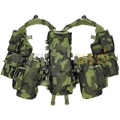 Taktická bojová vesta  Vz 95 CZ - 12 kapes - Detektory kovů