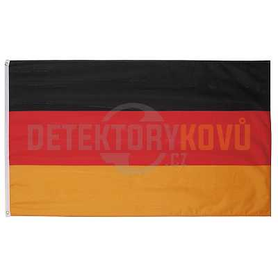 Vlajka Německa, 150 x 90 cm - Detektory kovů
