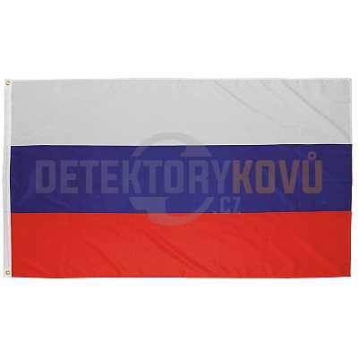 Vlajka Ruska, 150 x 90 cm - Detektory kovů