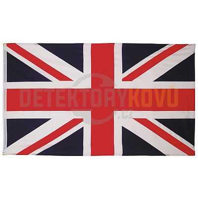 Vlajka Velká Británie, 150 x 90 cm - Detektory kovů