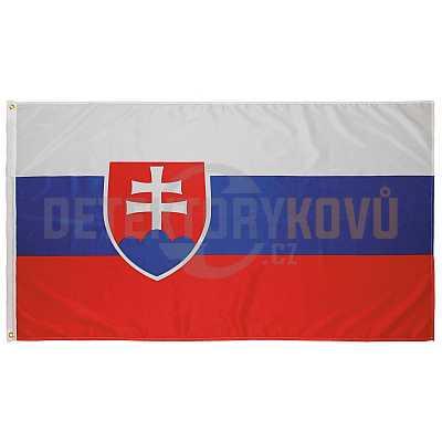 Vlajka SK, 150 x 90 cm - Detektory kovů