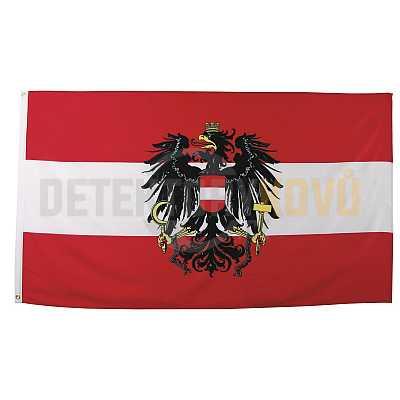 Vlajka Rakouska, 150 x 90 cm - Detektory kovů