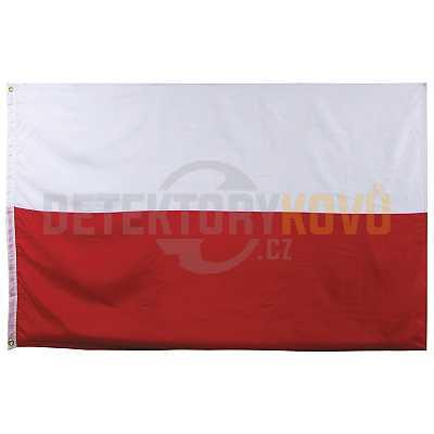 Vlajka Polská , 150 x 90 cm - Detektory kovů