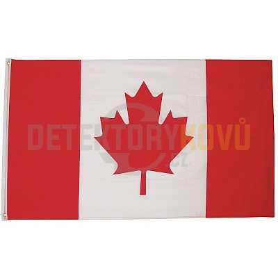 Vlajka Kanadská  , 150 x 90 cm - Detektory kovů