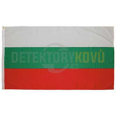 Vlajka Bulharská  , 150 x 90 cm - Detektory kovů