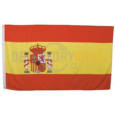 Vlajka Španělská  , 150 x 90 cm - Detektory kovů