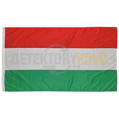 Vlajka Maďarská, 150 x 90 cm - Detektory kovů
