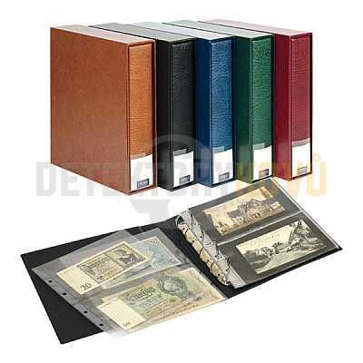 Album na bankovky (pro 80 ks) PUBLICA M - černé - Detektory kovů