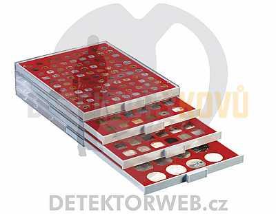 Kazeta na 48 mincí - průměr 28 mm 2149 - Detektory kovů