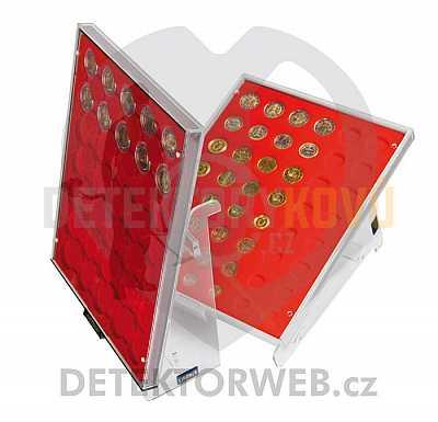 Stojánek pro sběratelské kazety Lindner - Detektory kovů